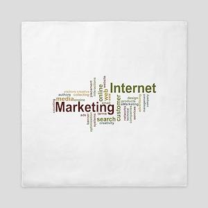 marketing mix Queen Duvet