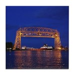 Duluth Aerial Lift Bridge & John G. Tile Coast