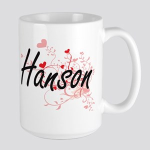 Hanson Artistic Design with Hearts Mugs