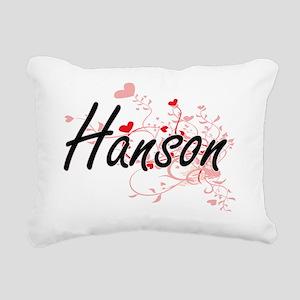 Hanson Artistic Design w Rectangular Canvas Pillow