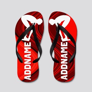 Born To Swim Flip Flops