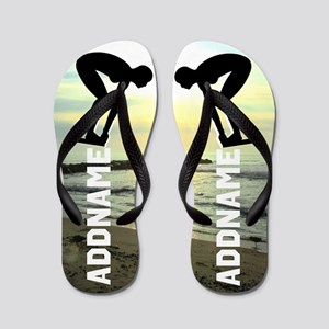 Awesome Swimmer Flip Flops