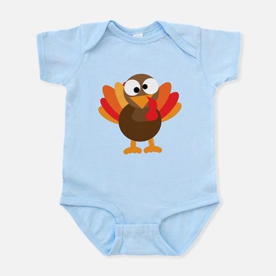 Funny Turkey Infant Bodysuit