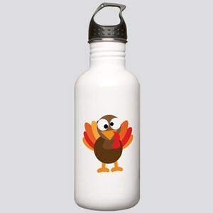 Funny Turkey Stainless Water Bottle 1.0L