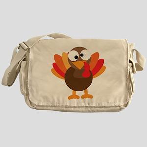 Funny Turkey Messenger Bag