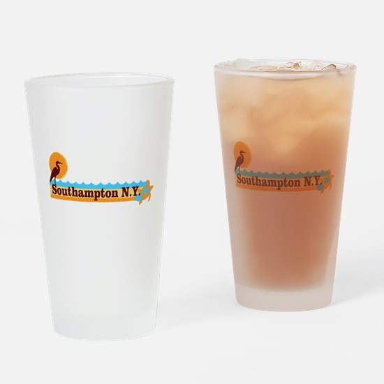 Southampton - Long Island. Drinking Glass
