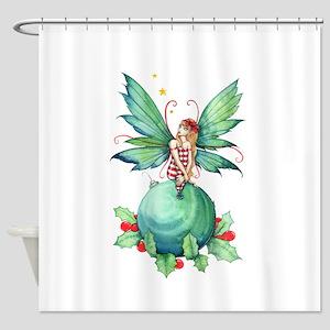 Little Christmas Fairy Shower Curtain