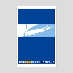 Southampton - Long Island. Mini Poster Print