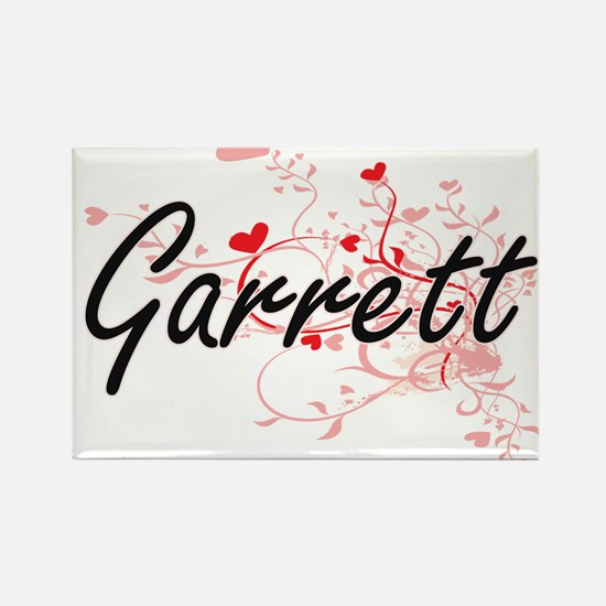 Garrett Artistic Design with Hearts Magnets