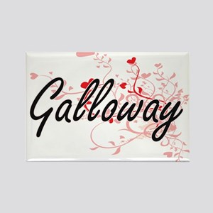 Galloway Artistic Design with Hearts Magnets