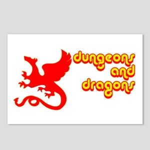 Dungeons and Dragons Postcards (Package of 8)