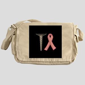 Screw Breast Cancer! Messenger Bag