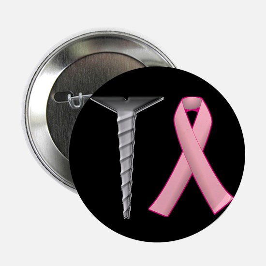 """Screw Breast Cancer! 2.25"""" Button (100 pack)"""