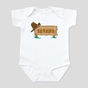 Savana western Infant Bodysuit