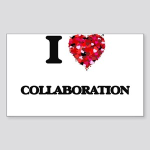 I love Collaboration Sticker