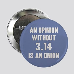 "Opinion Sans Pi 2.25"" Button"