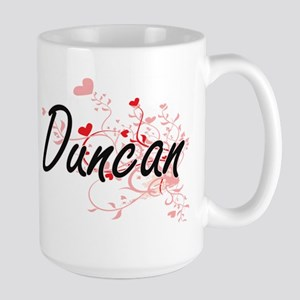 Duncan Artistic Design with Hearts Mugs