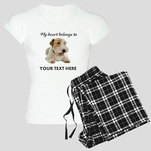 Custom Wire Fox Terrier Women's Light Pajamas