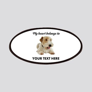Custom Wire Fox Terrier Patch