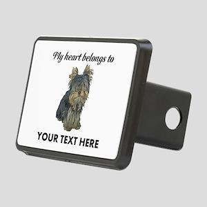 Custom Yorkshire Terrier Rectangular Hitch Cover