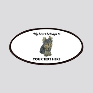 Custom Yorkshire Terrier Patch