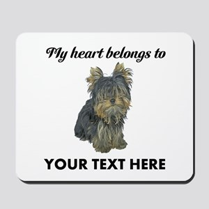 Custom Yorkshire Terrier Mousepad