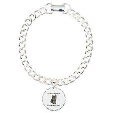 Custom Yorkshire Terrier Charm Bracelet, One Charm