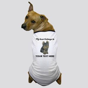 Custom Yorkshire Terrier Dog T-Shirt