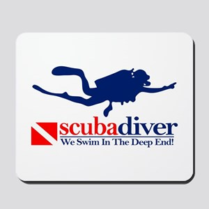 scubadiver Mousepad