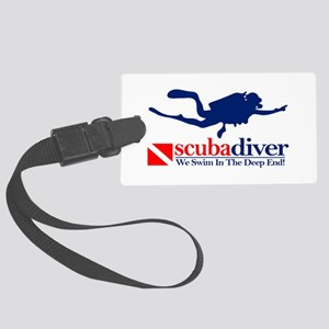 scubadiver Luggage Tag