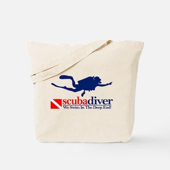 scubadiver Tote Bag