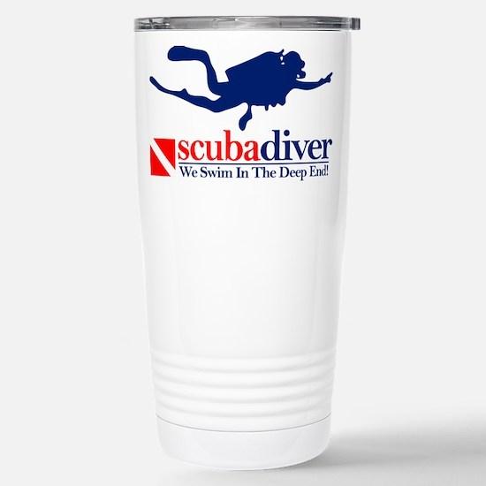 scubadiver Travel Mug