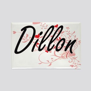 Dillon Artistic Design with Hearts Magnets