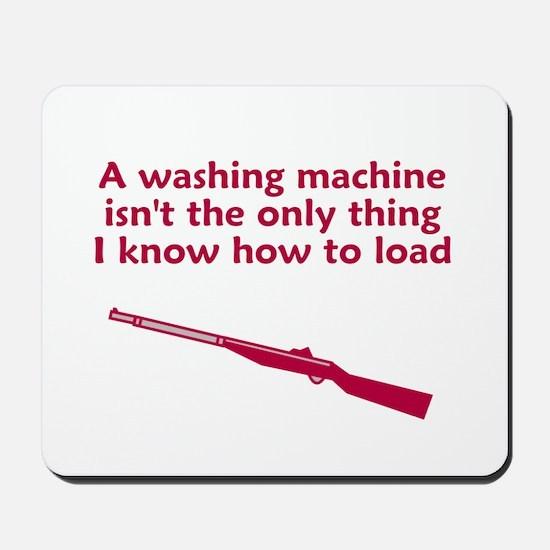 Washing machine load Mousepad