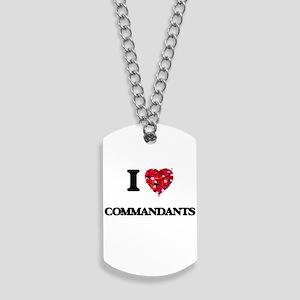 I love Commandants Dog Tags