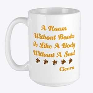 Room Without Books Large Mug