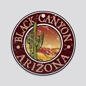 Black Canyon Ornament (Round)