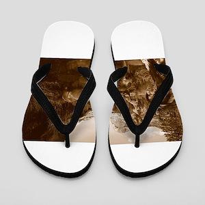 native american Flip Flops