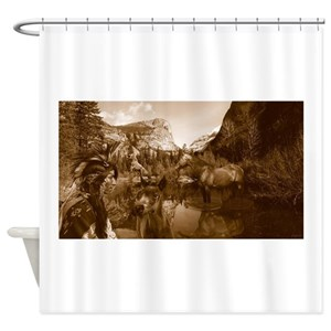 Native American Chief Shower Curtains