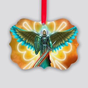 Angel Of God Picture Ornament