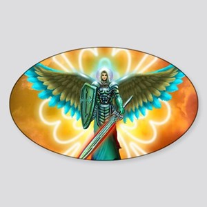 Angel Of God Sticker (Oval)