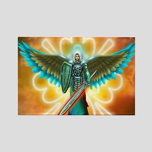 Angel Of God Rectangle Magnet