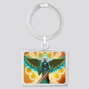 Angel Of God Landscape Keychain