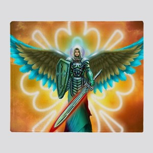 Angel Of God Throw Blanket