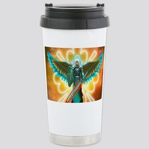 Angel Of God Stainless Steel Travel Mug