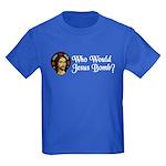 Who Would Jesus Bomb? Kids Dark T-Shirt