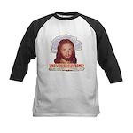 Who Would Jesus Bomb? Kids Baseball Jersey