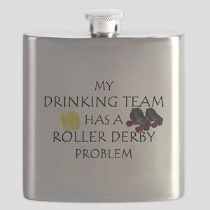 drinking derby team Flask