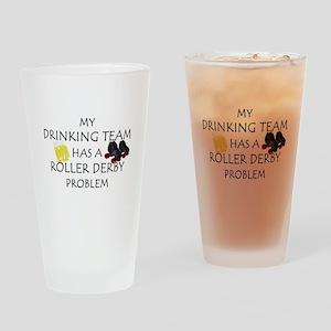 drinking derby team Drinking Glass