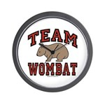 Team Wombat III Clock
